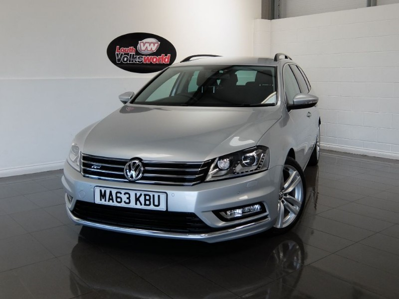 used VW Passat TDI R LINE 5DR ESTATE AUTOMATIC in lincolnshire-for-sale