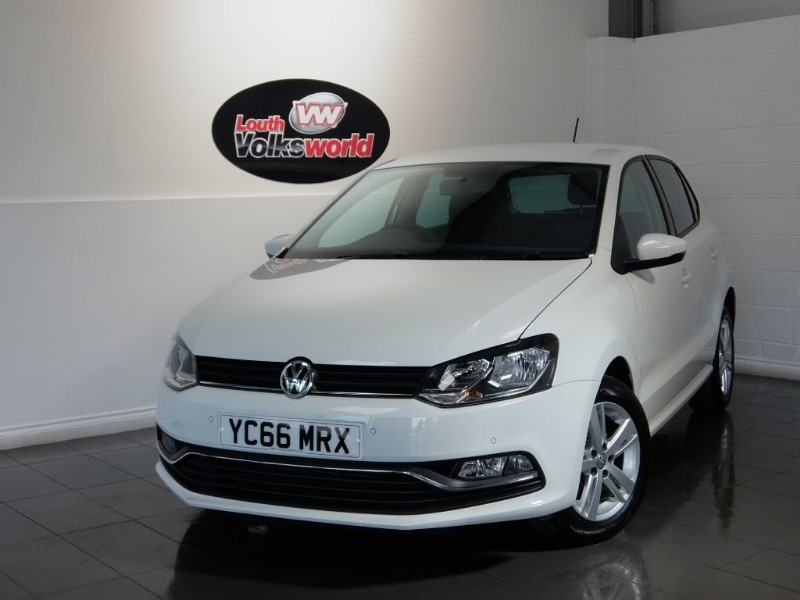 used VW Polo TDI MATCH 5DR 80 MPG £0 R/F LICENCE in lincolnshire-for-sale