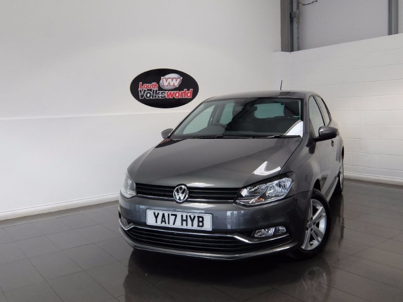 used VW Polo TDI MATCH EDITION 5DR SAT NAV in lincolnshire-for-sale