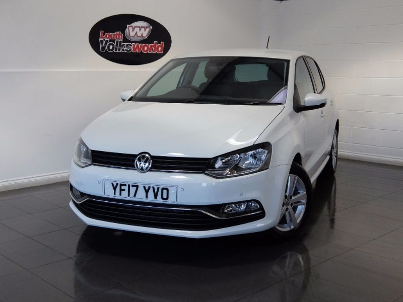 used VW Polo TSI MATCH EDITION 5DR AUTOMATIC SAT NAV in lincolnshire-for-sale