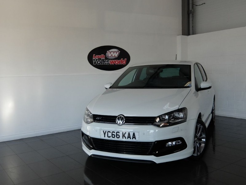 used VW Polo R LINE TSI 5DR £0 R/F LICENCE in lincolnshire-for-sale