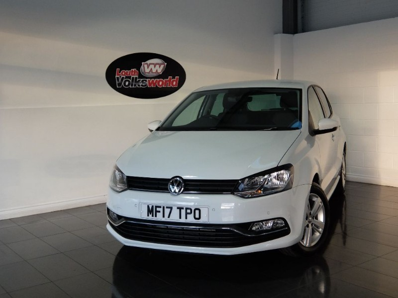 used VW Polo TSI MATCH EDITION 5DR AUTOMATIC SAT NAV ONLY 2000 MILES in lincolnshire-for-sale