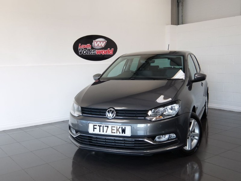 used VW Polo TSI MATCH EDITION 5DR ONLY 350 MILES in lincolnshire-for-sale