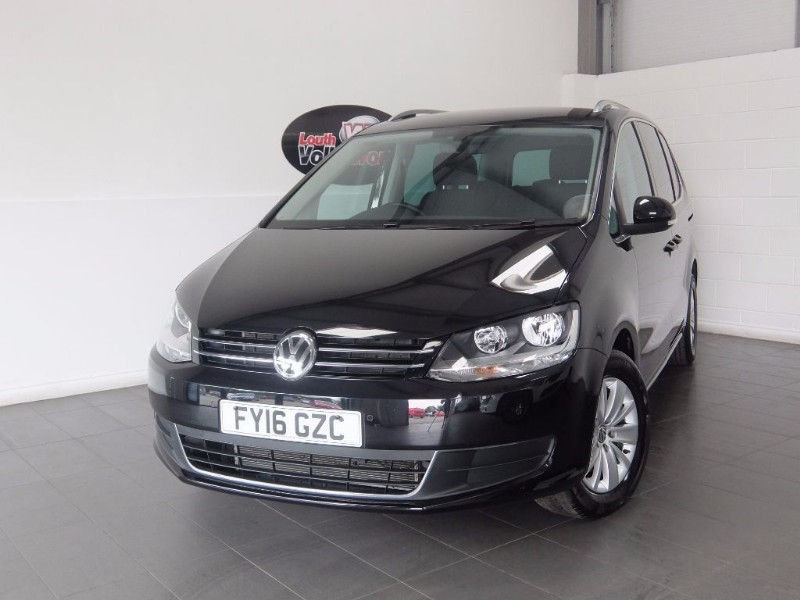 used VW Sharan TDI SE 5DR SAT NAV 7 SEATER in lincolnshire-for-sale