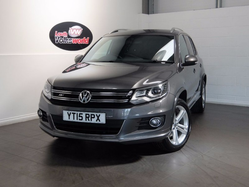 used VW Tiguan TDI R-LINE 5DR AUTOMATIC SAT NAV in lincolnshire-for-sale