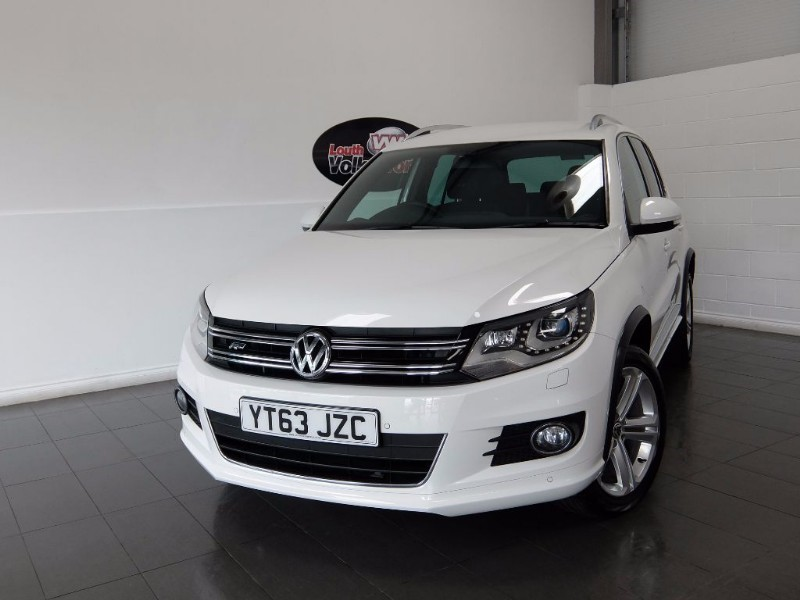 used VW Tiguan TDI R LINE 5DR 4MOTION in lincolnshire-for-sale