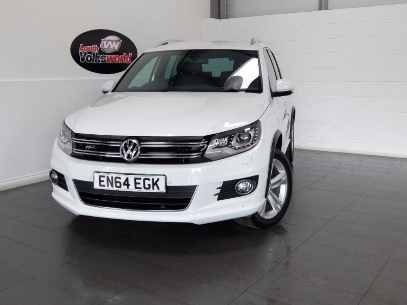 used VW Tiguan R LINE TDI BLUEMOTION TECH 4MOTION DSG in lincolnshire-for-sale