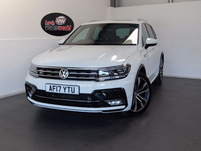 used VW Tiguan R-LINE TDI BMT 4MOTION in lincolnshire-for-sale