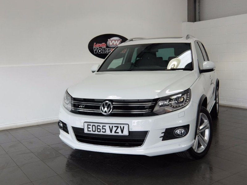 used VW Tiguan TDI R LINE 5DR AUTOMATIC in lincolnshire-for-sale