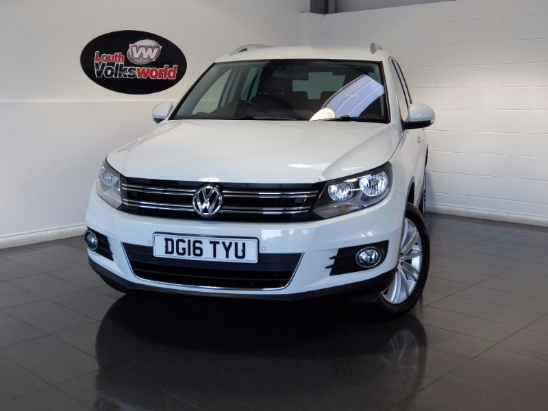 used VW Tiguan MATCH EDITION TDI BMT 4MOTION DSG in lincolnshire-for-sale