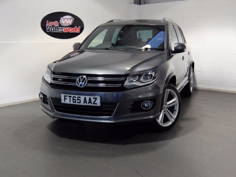 used VW Tiguan R LINE EDITION TDI BMT 4MOTION DSG REVERSE CAMERA KEYLESS START in lincolnshire-for-sale