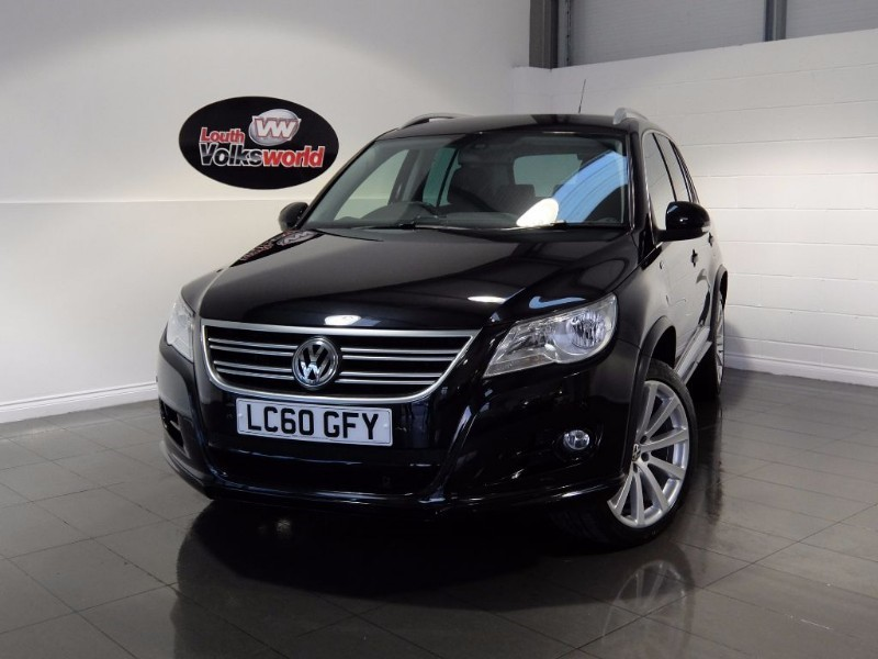 used VW Tiguan R LINE TDI 4MOTION DSG in lincolnshire-for-sale
