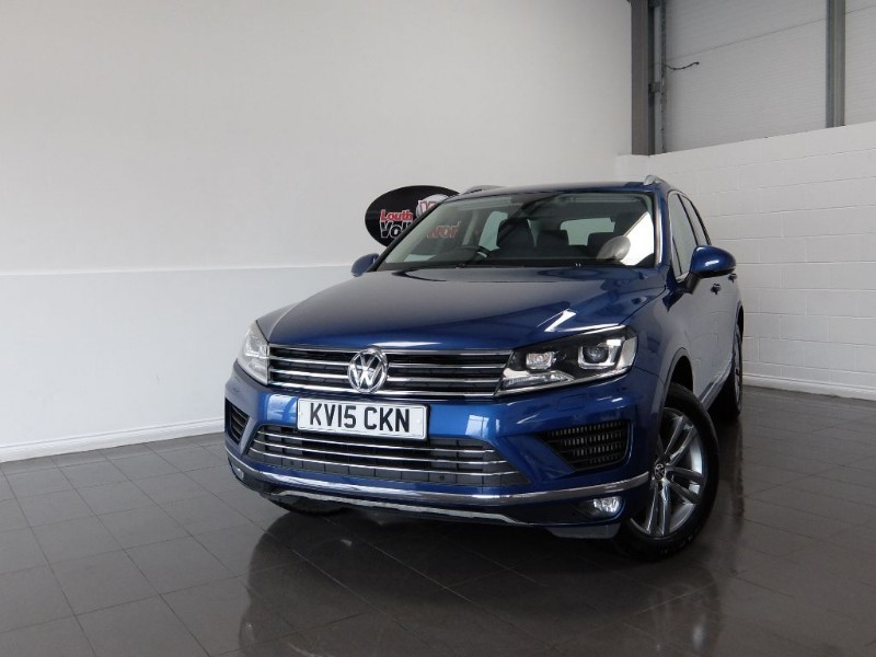 used VW Touareg TDI SE V6 5DR AUTOMATIC SAT NAV in lincolnshire-for-sale