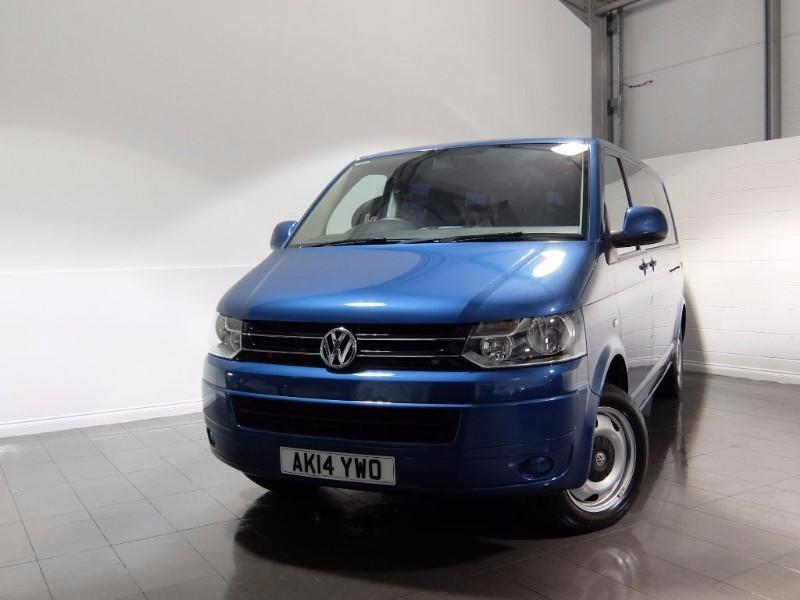used VW Transporter TDI T30 SE SHUTLE NO VAT 5DR SAT NAV REVERSING CAMERA  in lincolnshire-for-sale