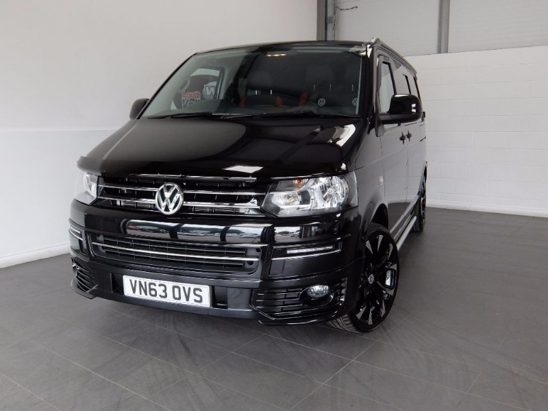 used VW Transporter TDI T28 HIGHLINE 3DR DAY VAN BED DVD PLAYER TABLE NO VAT in lincolnshire-for-sale