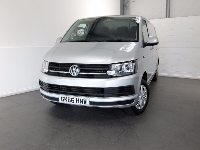 used VW Transporter TDI TRENDLINE T28 5DR LWB in lincolnshire-for-sale