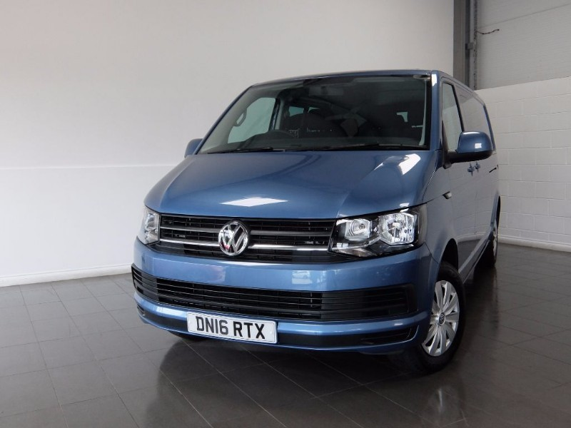 used VW Transporter T32 TDI KOMBI TRENDLINE LWB in lincolnshire-for-sale
