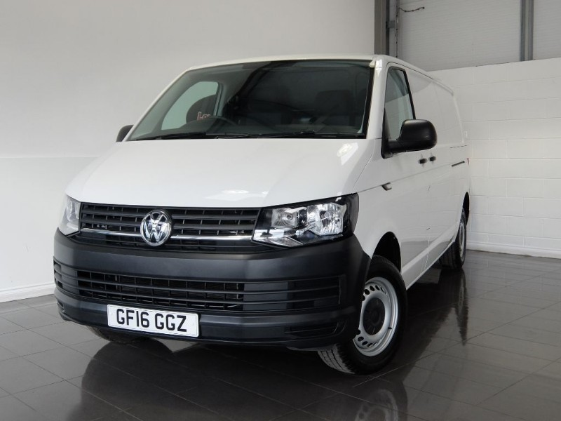 used VW Transporter TDI T28 STARTLINE in lincolnshire-for-sale