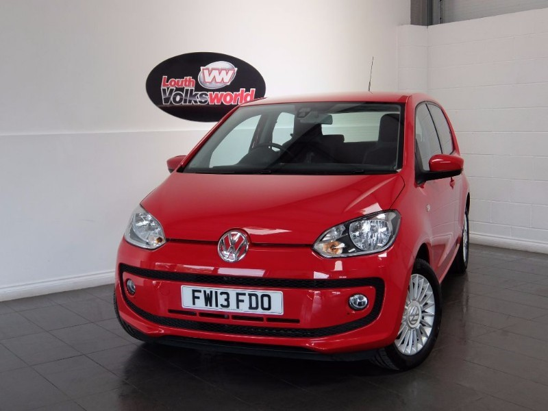 used VW Up HIGH UP 5DR SAT NAV HEATED SEATS in lincolnshire-for-sale