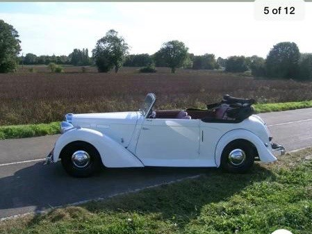 used Alvis  TA 14 HISTORIC DROPHEAD in wigan