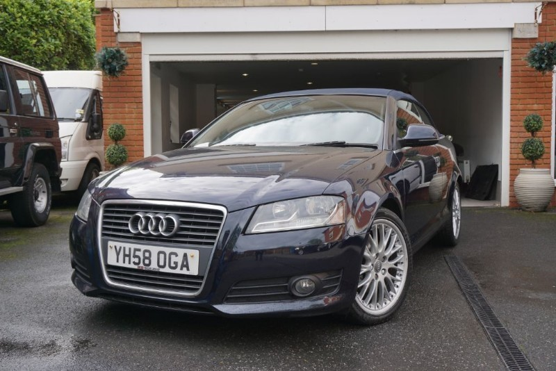 used Audi A3 TDI SPORT CONVERTIBLE in wigan