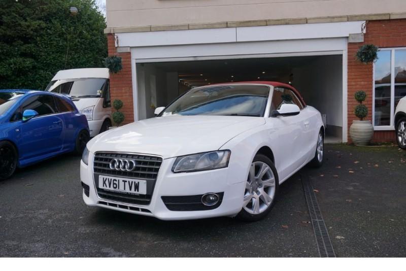 used Audi A5 TDI SE CONVERTIBLE in wigan
