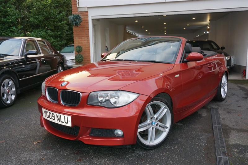 used BMW 120i M SPORT CONVERTIBLE in wigan