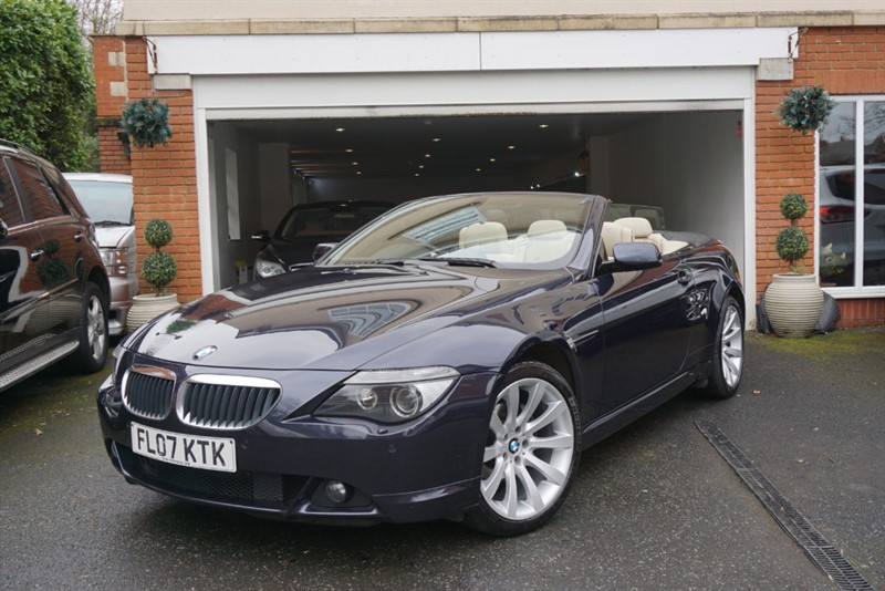 used BMW 630i SPORT CONVERTIBLE in wigan