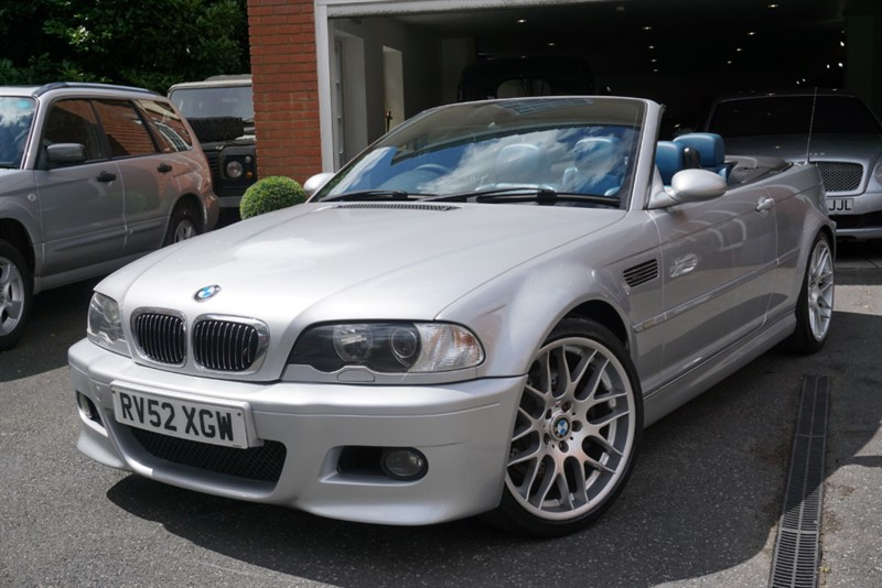 used BMW M3 CONVERTIBLE in wigan