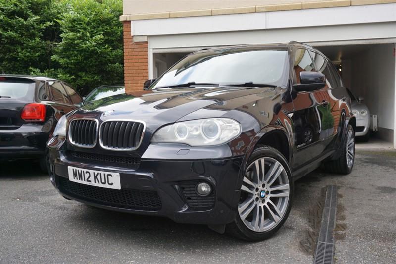 used BMW X5 XDRIVE30D M SPORT in wigan