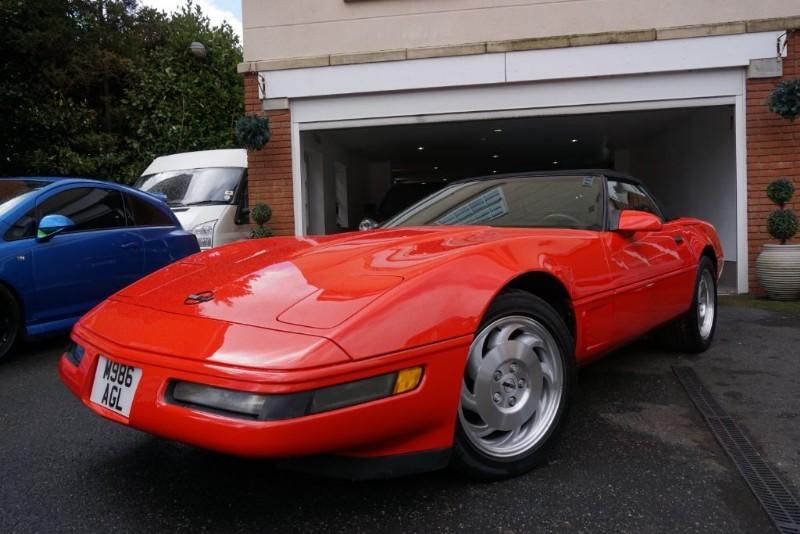 used Chevrolet Corvette CONVERTIBLE MANUEL in wigan