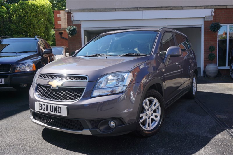 used Chevrolet Orlando VCDI LT in wigan
