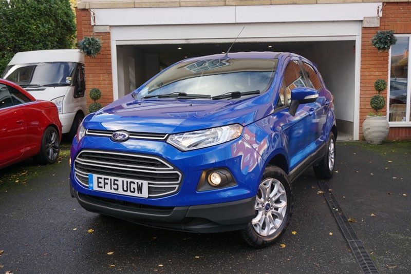 used Ford EcoSport ZETEC in wigan