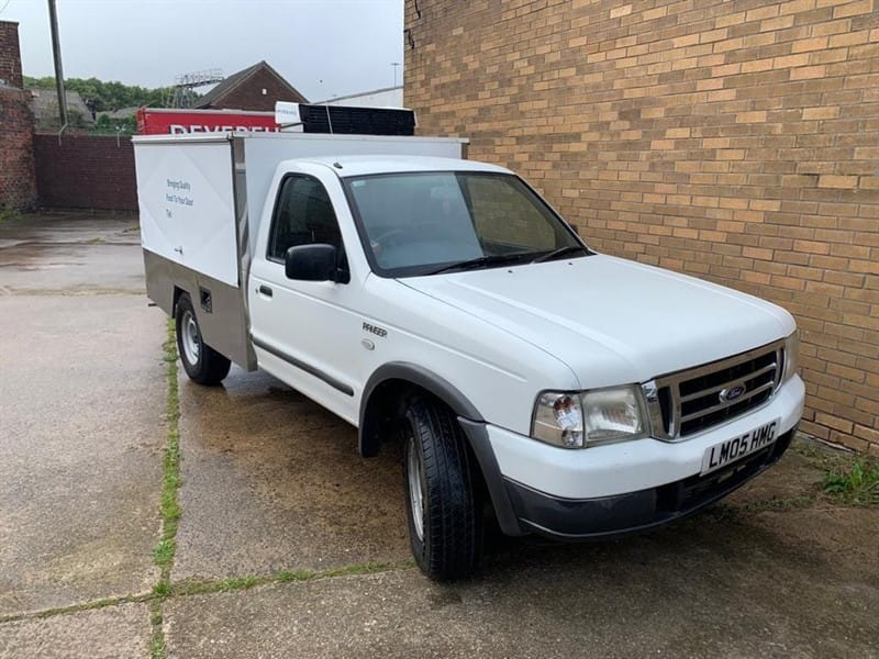 Car of the week - Ford Ranger 4X4 TD CATERING TRUCK - Only £7,995