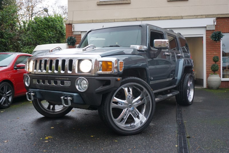 used Hummer H3 LPG in wigan