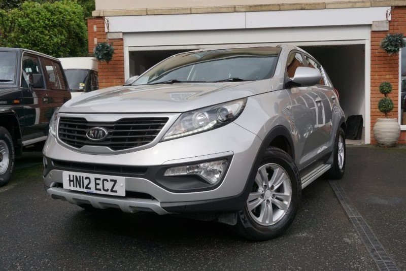 used Kia Sportage CRDI 1 in wigan