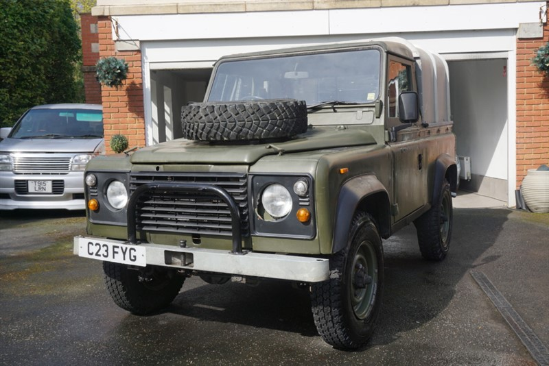 used Land Rover Defender 90 SWB Pickup EX MOD in wigan