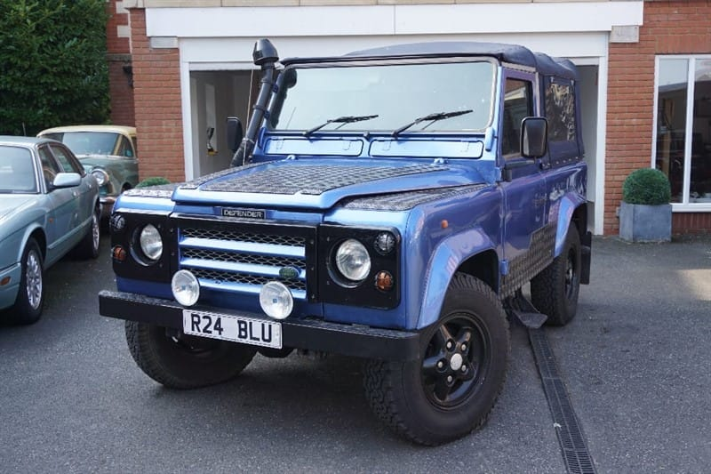 used Land Rover Defender PU TDI 95 CONVERTIBLE in wigan