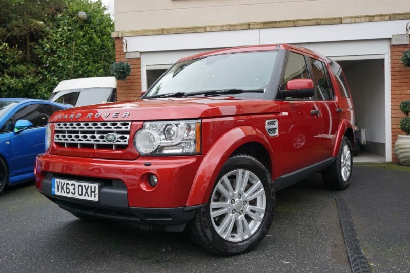 used Land Rover Discovery 4 SDV6 GS 7 SEATS in wigan