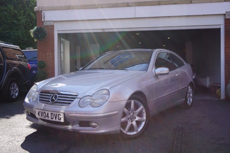 used Mercedes C200 KOMPRESSOR SE COUPE in wigan
