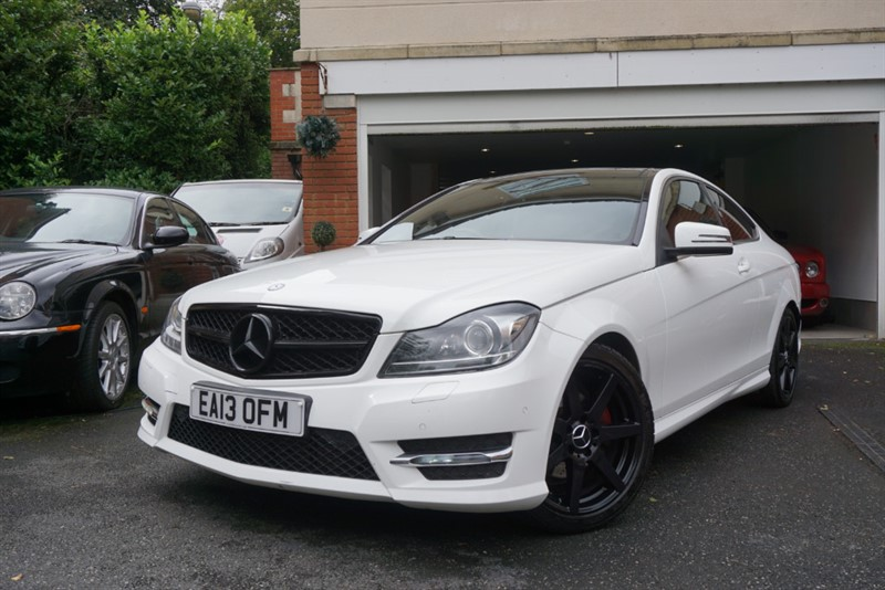 used Mercedes C220 CDI BLUEEFFICIENCY AMG SPORT COUPE in wigan
