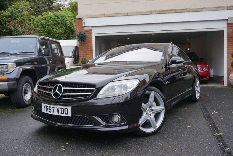 used Mercedes CL500 5.5 AMG SPEC in wigan