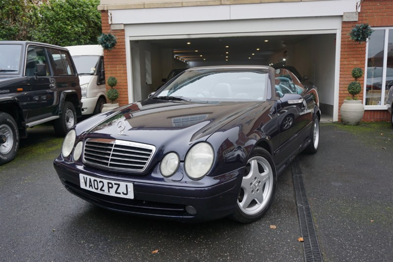 used Mercedes CLK230 KOMPRESSOR AVANTGARDE CONVERTIBLE in wigan