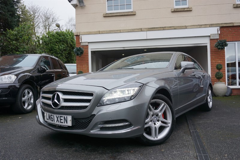 used Mercedes CLS350 CDI CLS350 CDI BLUEEFFICIENCY in wigan