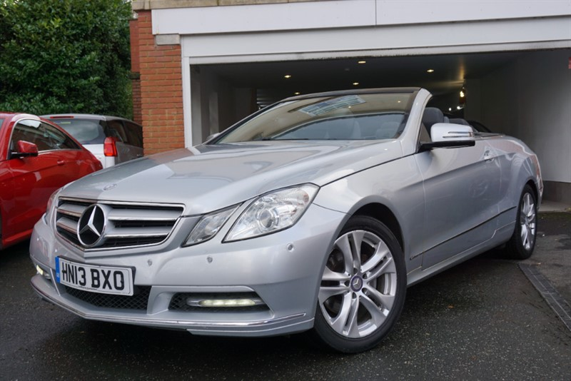used Mercedes E220 CDI BLUEEFFICIENCY SE CONVERTIBLE in wigan