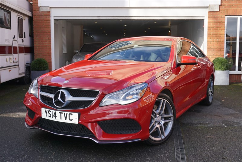 used Mercedes E220 CDI AMG SPORT COUPE in wigan