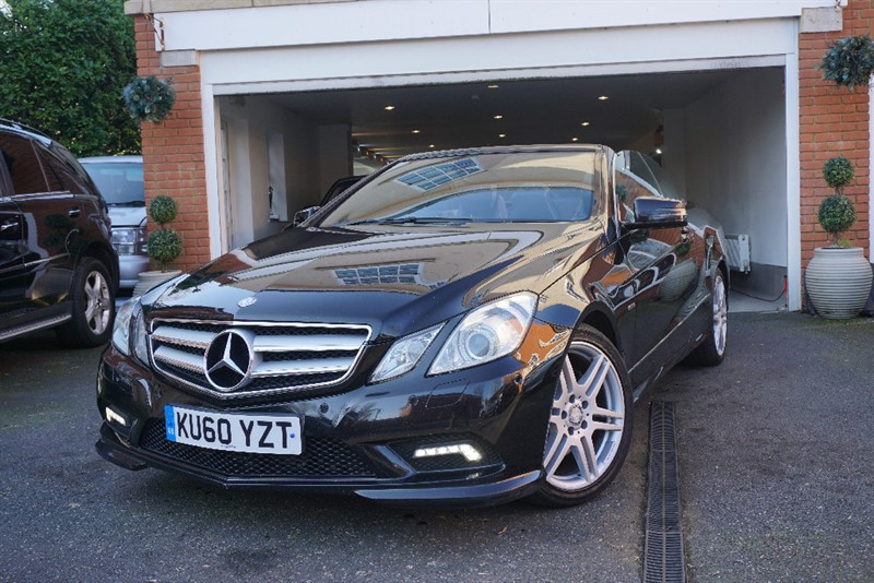 Car of the week - Mercedes E250 CDI  SPORT CONVERTIBLE - Only £9,950