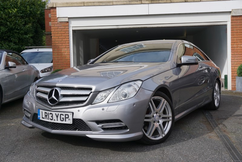 used Mercedes E250 CDI BLUEEFFICIENCY S/S SPORT COUPE in wigan