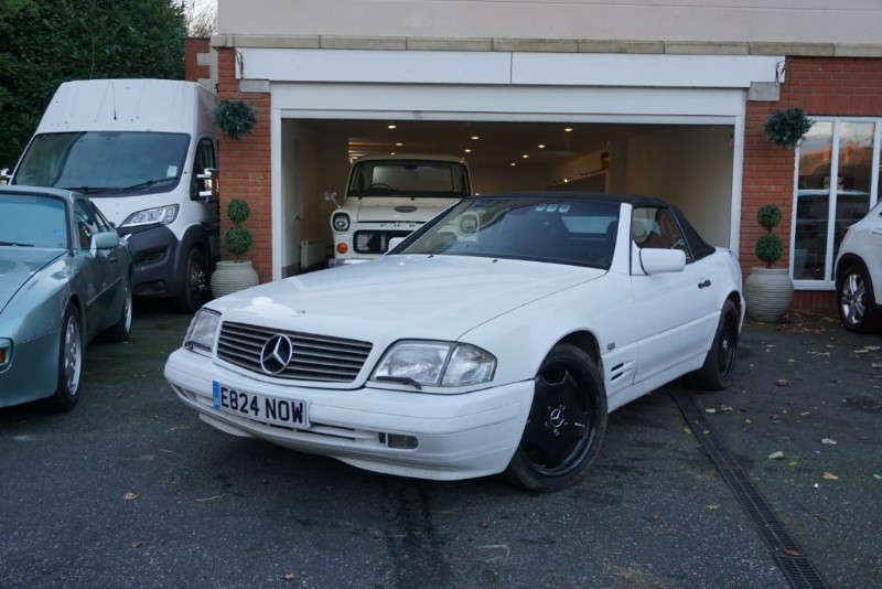 used Mercedes SL SL320 in wigan
