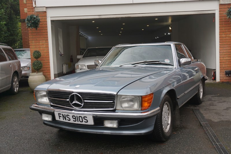 used Mercedes SL350  in wigan